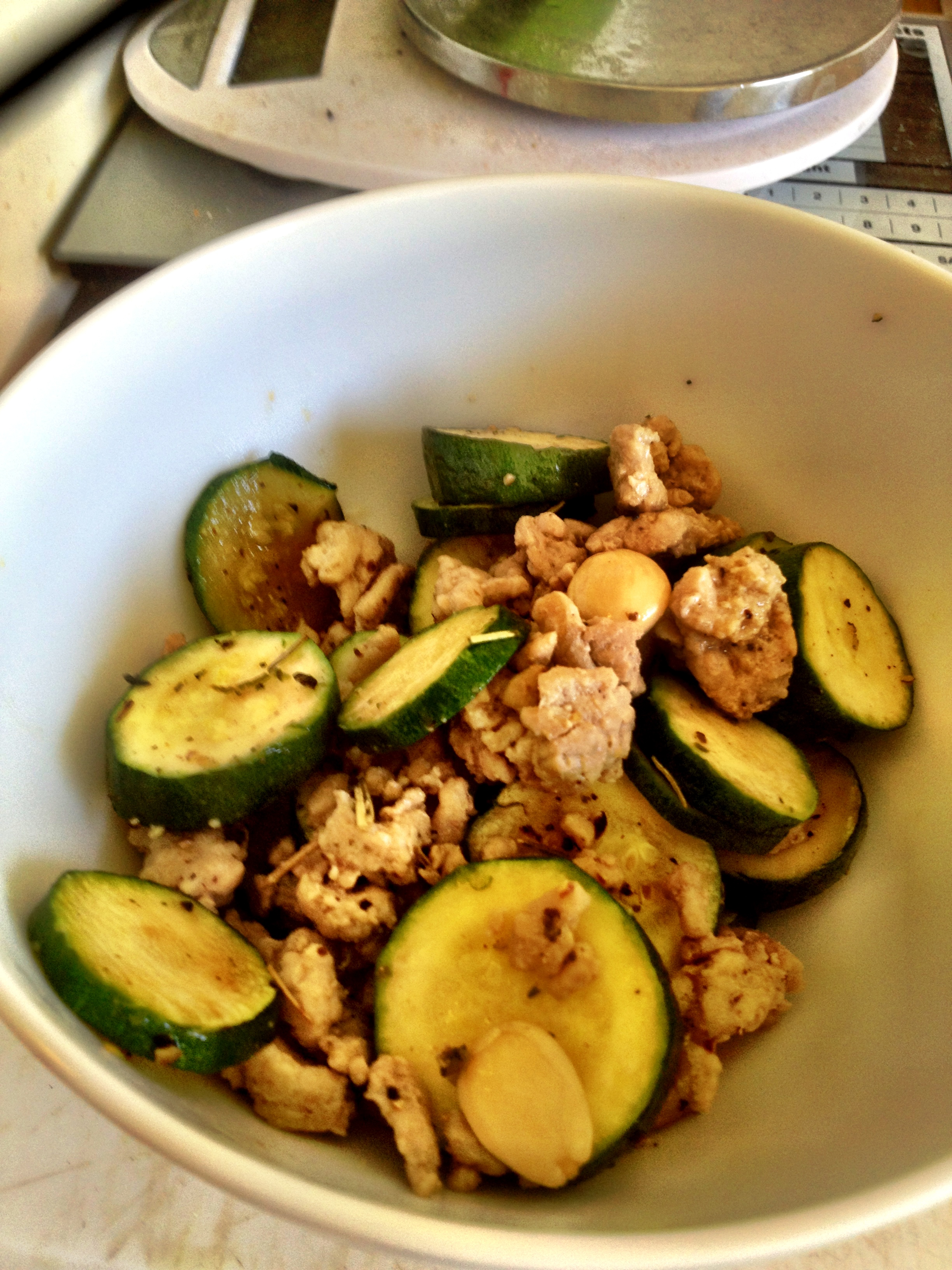 Rosemary Zucchini Ground Turkey