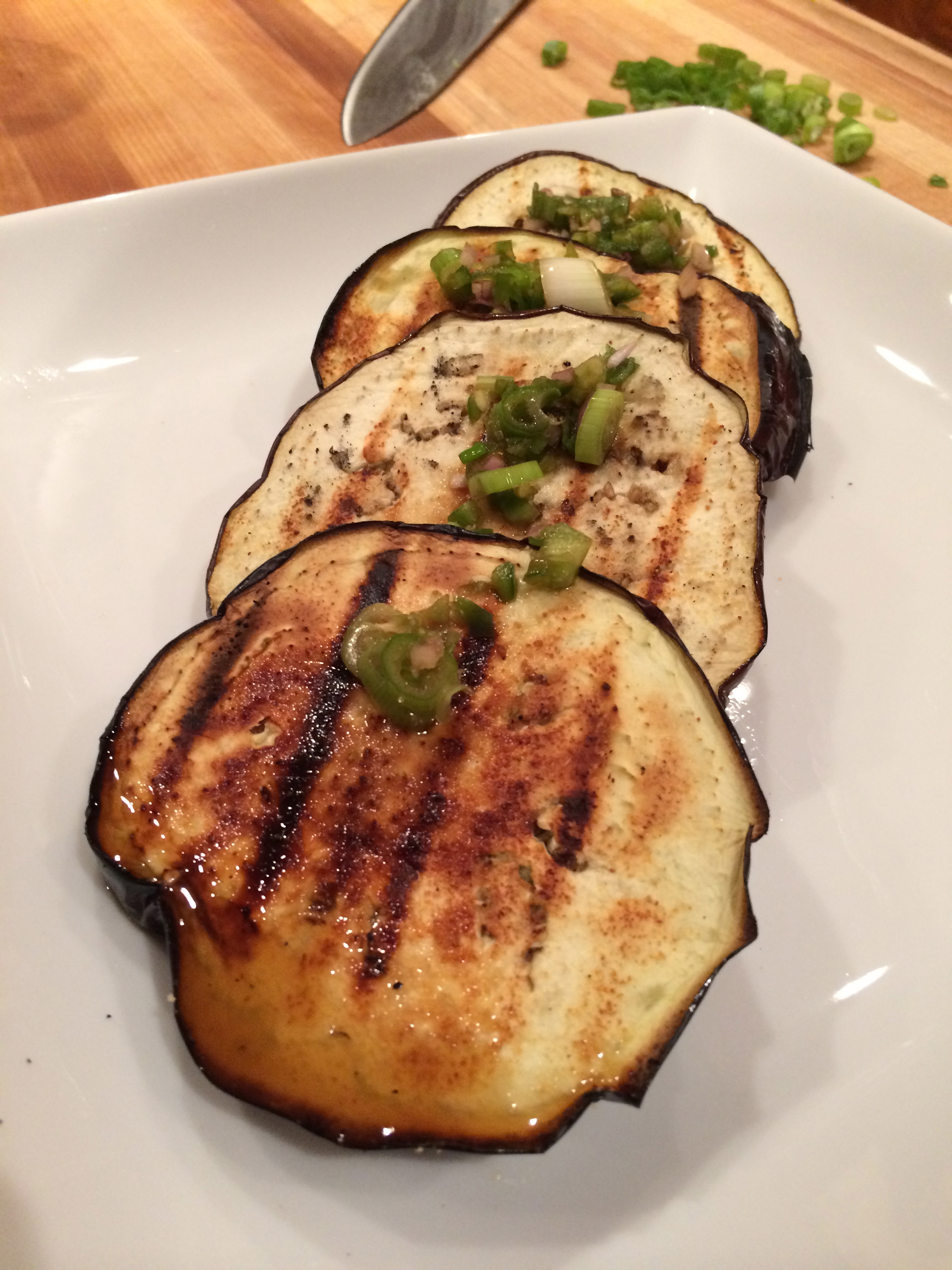 recipe: grilled eggplant side dish [20]